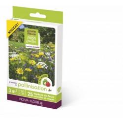 Prairie fleurie: Pollinisation et abeilles - 3 M²
