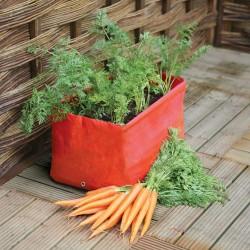 Sac de culture pour carottes 45 x 30 x 30 cm - set de 2 pièces
