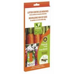 Piège à mouche orange contre la mouche de la carotte - 10 pièces